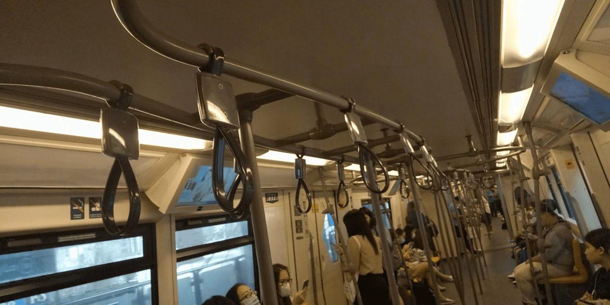 タイの電車内,画像