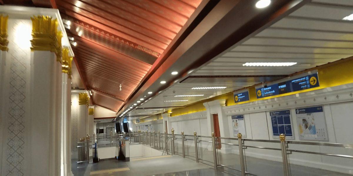 サナームチャイ駅,画像