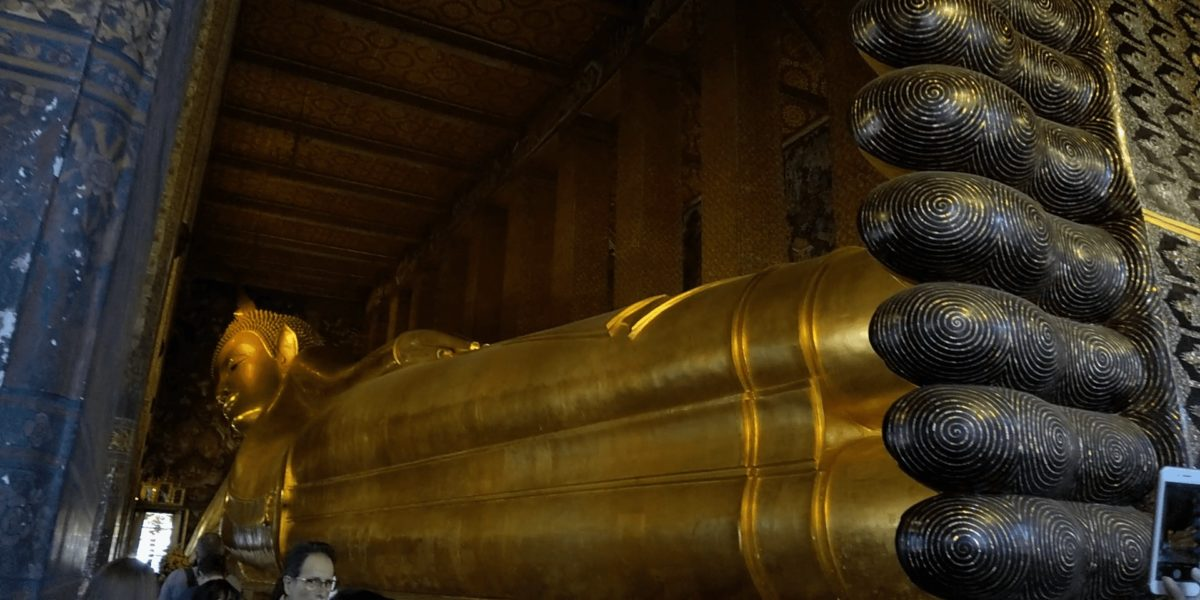 ワット・ポーの寝釈迦仏,画像