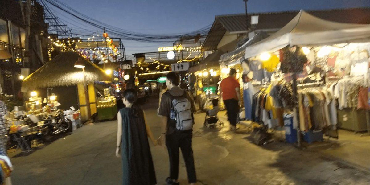 タイの鉄道市場,画像
