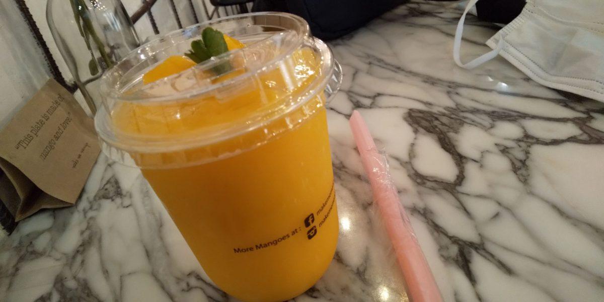 タイのマンゴー専門店make me mango,画像
